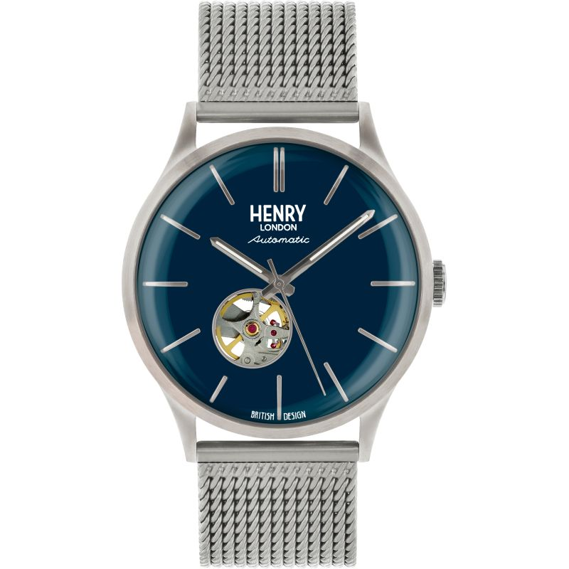 Mens Henry London Heritage Automatic Watch HL42-AM-0285