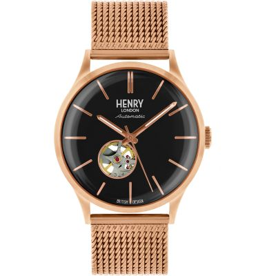 Montre Homme Henry London Heritage HL42-AM-0286