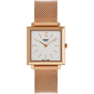 Ladies Henry London Heritage Square Watch HL26-QM-0264
