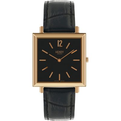Montre Homme Henry London Heritage Square HL34-QS-0270