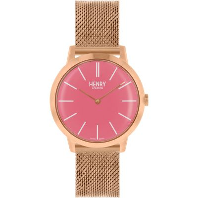 Henry London Iconic Dameshorloge Rose HL34-M-0272
