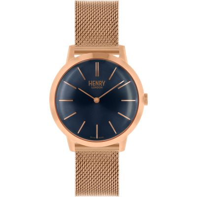 Henry London Iconic Dameshorloge Rose HL34-M-0292