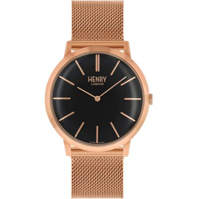 Henry London Iconic Herenhorloge Rose HL40-M-0254