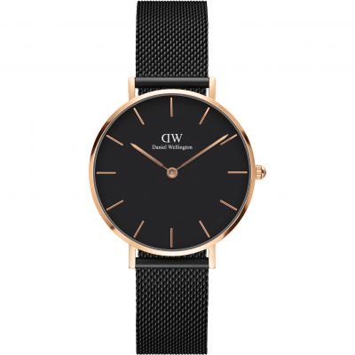 31efe23e6 Ladies Daniel Wellington Classic Petite Melrose Watch (DW00100161 ...