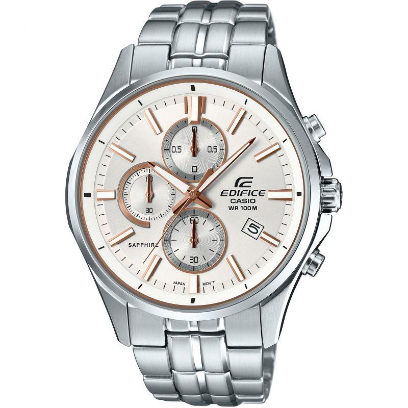 Mens Casio Edifice Sapphire Chronograph Watch