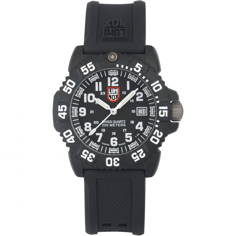 Mens Luminox 7050 Series Navy Seal Colormark Watch