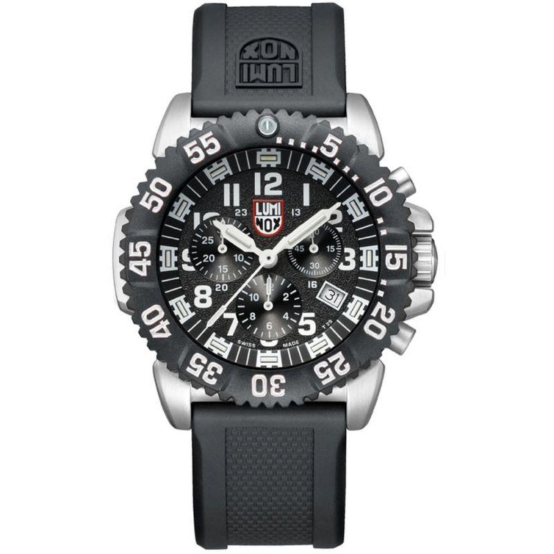 Mens Luminox 3180 Series Navy Seal Colormark Chronograph Watch