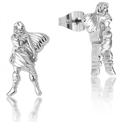 Ladies Disney Couture Silver Plated Pocahontas Stud Earrings DSE342