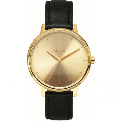 Nixon The Kensington Leather Damklocka A108-501