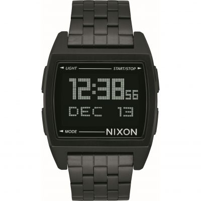 Nixon The Base Herrenchronograph in Schwarz A1107-001