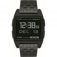 Mens Nixon The Base Alarm Chronograph Watch