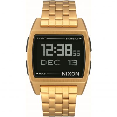 Nixon The Base Herrkronograf Guld A1107-502