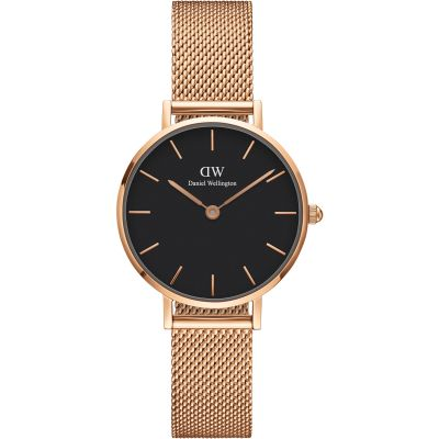 Ladies Daniel Wellington Classic Petite 28 Melrose Black Watch DW00100217
