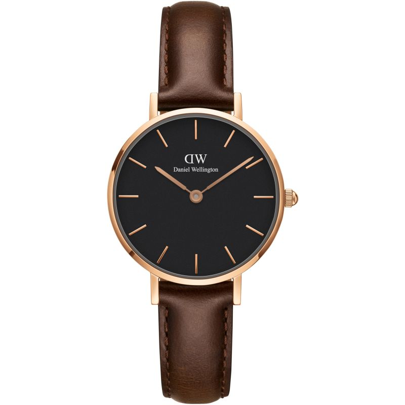 Ladies Daniel Wellington Classic Petite 28 Bristol Black Watch DW00100221