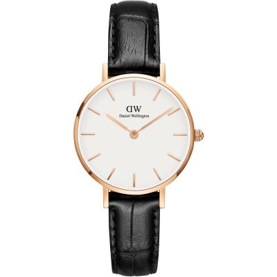 Daniel Wellington Classic Petite 28 Reading Damenuhr in Schwarz DW00100229