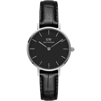 Daniel Wellington Classic Petite 28 Reading Black Damenuhr in Schwarz DW00100235