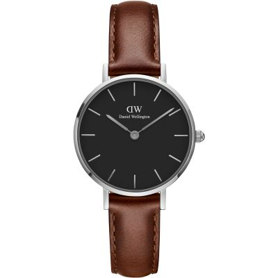 Ladies Daniel Wellington Classic Petite 28 St Mawes Black Watch DW00100237