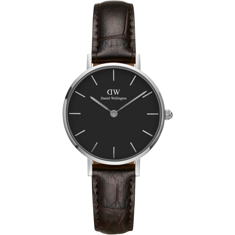 Ladies Daniel Wellington Classic Petite 28 York Black Watch DW00100238