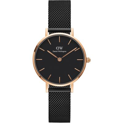 Ladies Daniel Wellington Petite 28 Ashfield Black Watch DW00100245