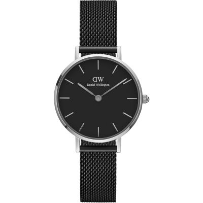 Daniel Wellington Petite 28 Ashfield Black Damenuhr in Schwarz DW00100246