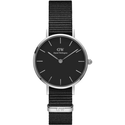 Daniel Wellington Petite 28 Cornwall Black Damenuhr in Schwarz DW00100248