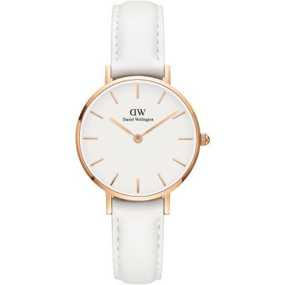 Ladies Daniel Wellington Petite 28 Bondi White Watch DW00100249