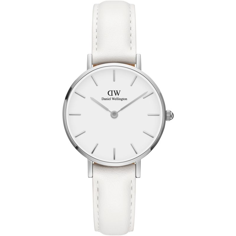 Ladies Daniel Wellington Petite 28 Bondi White Watch DW00100250