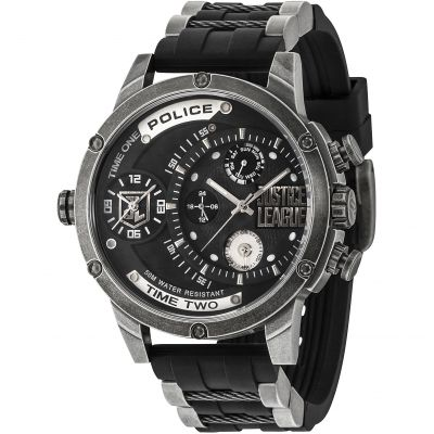 Mens Police Justice League Limited Edition Watch 14536JQ/02P