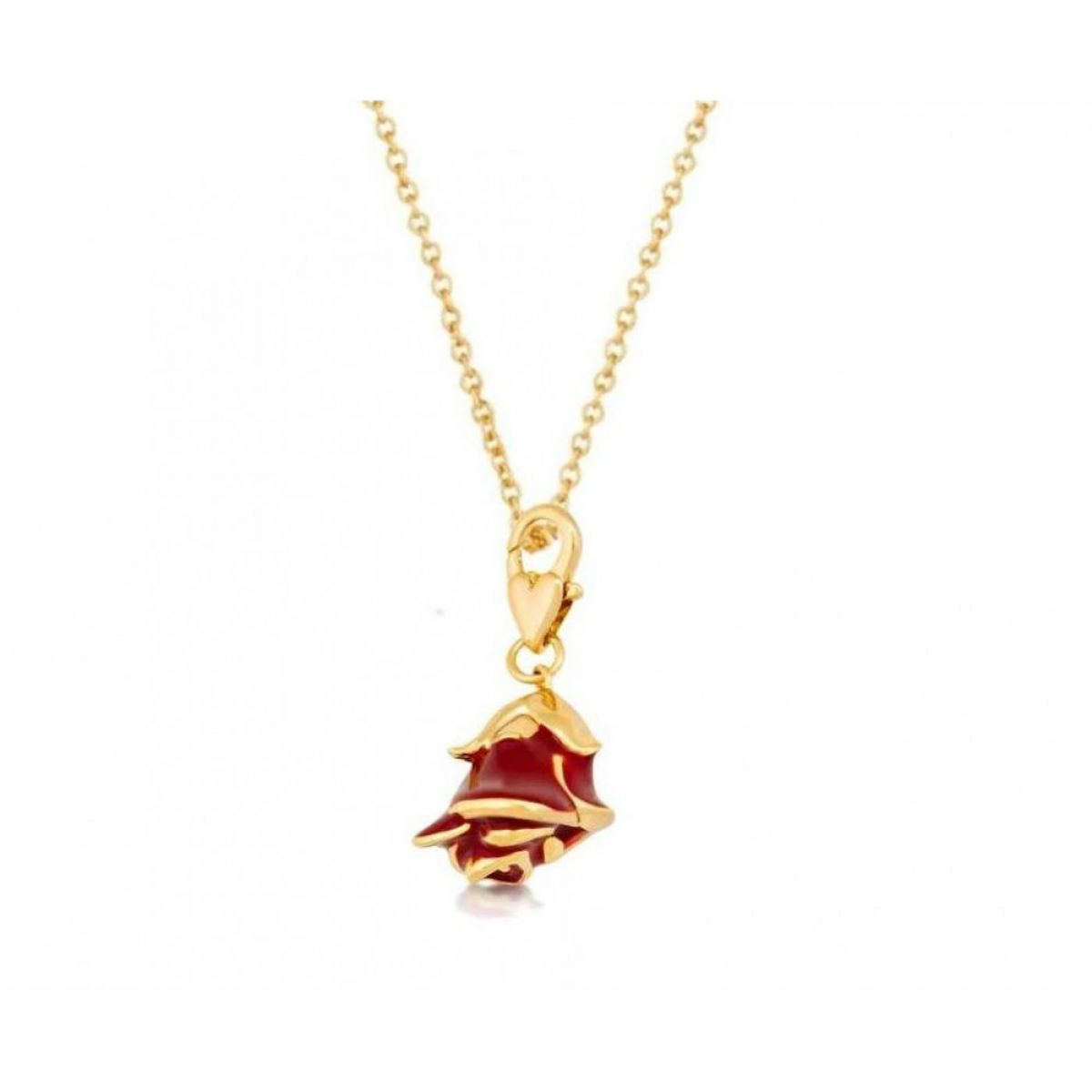 the mrs gold beast couture necklace crystal and potts crop plated chip disney beauty products