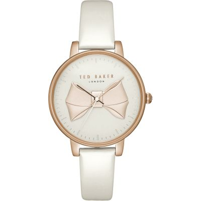 Ted Baker Brook Damenuhr in Weiß TEC0185005