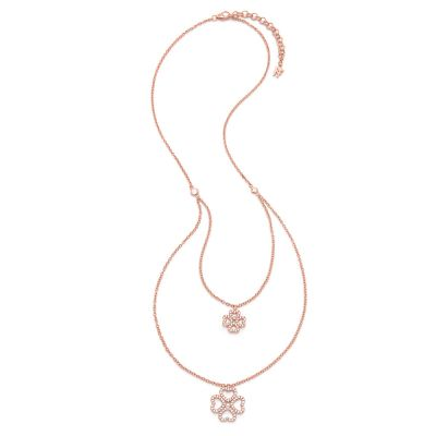 Gioielli da Folli Follie Jewellery Miss H4H CZ Double Necklace 5020.3473