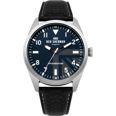 Mens Ben Sherman Carnaby Military Speaker Gift Set Watch WB074UBG