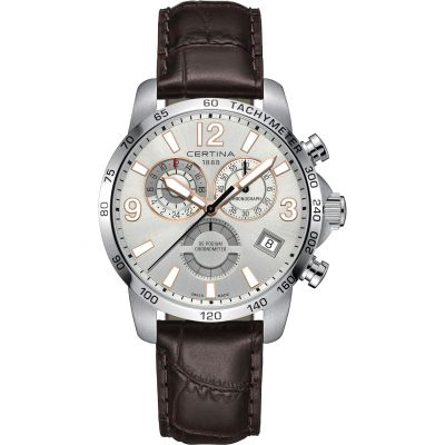 Montre Chronographe Homme Certina DS Podium Quartz Chronometer C0346541603701