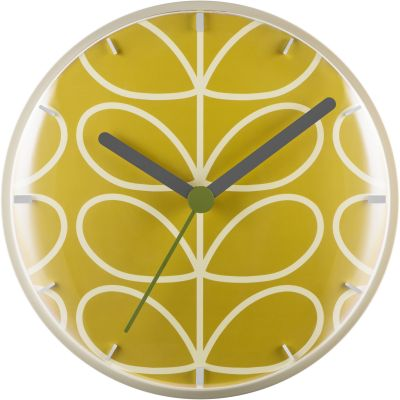 Orla Kiely Clocks Dandelion Wall Clock OK-WCLOCK01