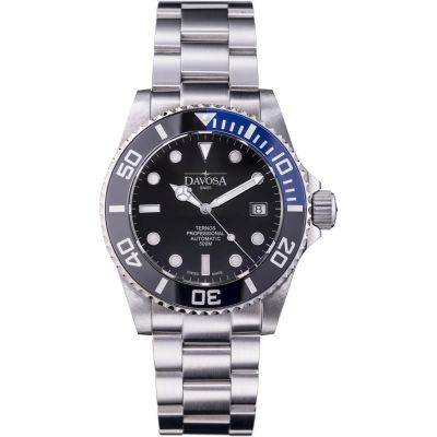 Mens Davosa Ternos Professional Diver TT Automatic Watch 16155945