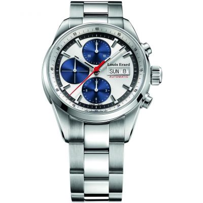 Mens Louis Erard Heritage Sport Automatic Chronograph Watch 78104AA11.BMA22