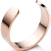 Ladies Abbott Lyon Rose Gold Plated Cuff Bangle AL3240