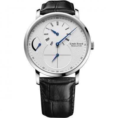 Louis Erard Excellence Regulator Power Reserve Herrenuhr in Schwarz 54230AA41.BDC02