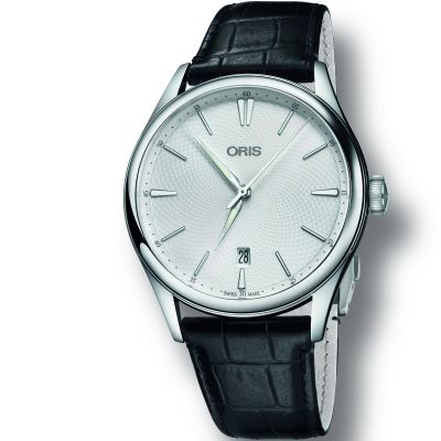 Mens Oris Artelier Date Automatic Watch 0173377214051-0752164FC