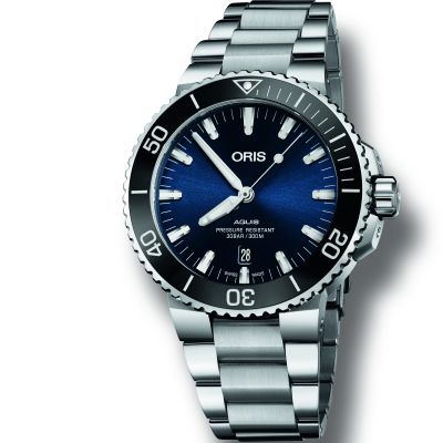 Mens Oris Aquis Automatic Watch 0173377304135-0782405PEB