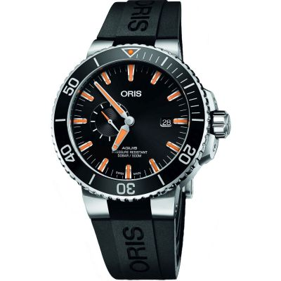 Mens Oris Aquis Automatic Watch 0174377334159-0745464EB