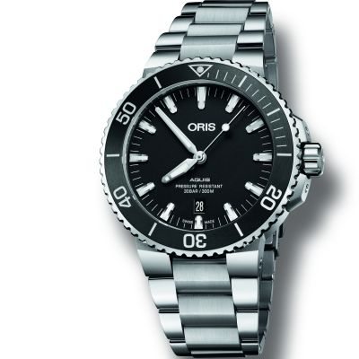 Mens Oris Aquis Automatic Watch 0173377304154-0782405PEB