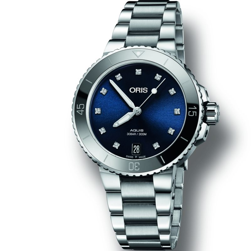 Ladies Oris Aquis Automatic Watch