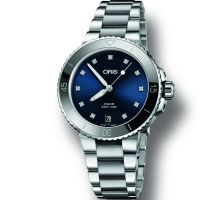 Ladies Oris Aquis Automatic Watch 0173377314195-0781805P