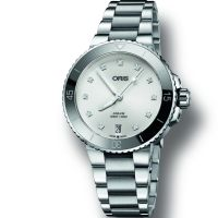 Ladies Oris Aquis Automatic Watch 0173377314191-0781805P
