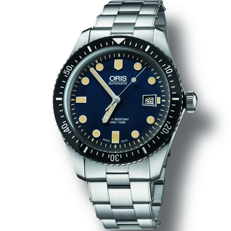 Mens Oris Diver Heritage Automatic Watch 0173377204055-0782118