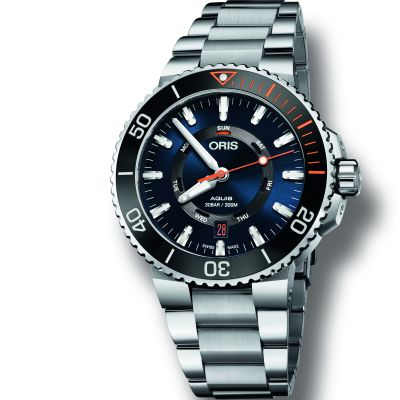 Mens Oris Aquis Automatic Watch 0173577344185-SET-MB