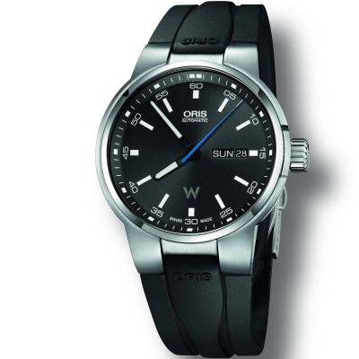 Oris Williams Day-Date Herrenuhr in Schwarz 0173577404154-0742454FC
