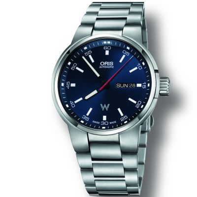 Oris Williams Day-Date klocka 0173577404155-0782450S