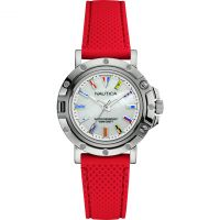 Ladies Nautica NST800 Flag Watch NAD12552L